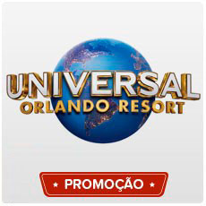 UNIVERSAL - 03 Dias | 03 Parques - 3º Parque Grátis